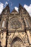 Prague st. Vitus cathedral — Stock Photo