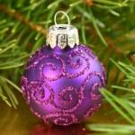 Christmas glass ball — Stock Photo #38725351