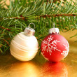 Christmas baubles — Stock Photo #38725885