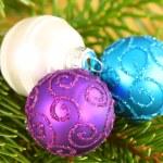 Christmas ornaments close up — Stock Photo #38726787