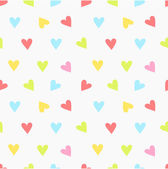 Hearts pattern — Vetorial Stock
