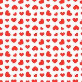 бесшовные сердца шаблон — Cтоковый вектор
