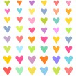 Hearts collection — Stock Vector #43327411