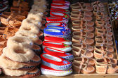 Engraxar os sapatos de montanha — Fotografia Stock