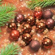 Christmas baubles — Stock Photo #45158527