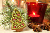 Cookie de l'arbre de noël — Photo