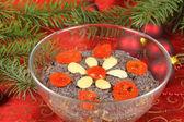 Christmas Polish  dessert — Stock Photo