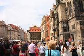 Clock in Prague — Stock Photo