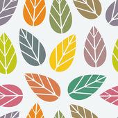 Seamless leaf texture — Stock Vector