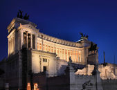 Il Vittoriano at night — Stockfoto