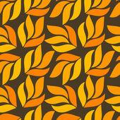 осенние листья шаблон — Cтоковый вектор
