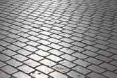 Cobblestones square — Stock Photo