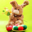 Stock Photo: Easter rabbit
