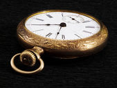 Golden pocketwatch — Stock Photo