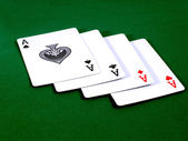 Four aces 2 — Stock Photo