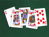 Royal flush 2 — Stock Photo