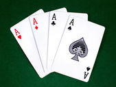 Four aces 5 — Stock Photo