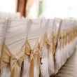 White chairs in row — Stockfoto #21227945