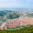 A view of Brasov In Transylvania Romania — Stock Photo