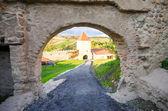 Rupea medieval fortress in Transylvania region of Romania — Stock Photo