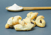Traditional crescent rolls — Stock Photo