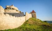 The medieval fortres of Rupea in Transylvania Romania — Stock Photo