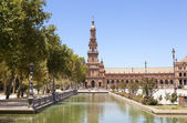 Spain Square tower — Stock Photo