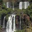 Iguazu Waterfall Brazil — Stock Photo