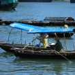 Floating Market Vietnam — Stock Photo