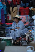 Street Market in Uyuni Bolivia — Stock Photo