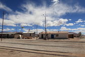 Old Train Station in Bolivia — Stock Photo