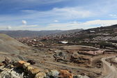 The Silver Mines from Potosi Bolivia — Stock Photo
