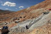 Silvermines in bolivia potosi — Foto Stock