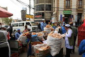 Street Trader in La Paz — Stock Photo
