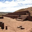 The Monuments from Tiwanaku - Stock Photo