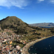 Stock Photo: Copacabanin Bolivia