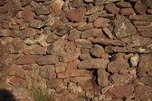 Natural Stone Wall — Stock Photo