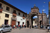 Cuzco i peru — Stockfoto