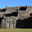 Stock Photo: SacsayhuamTemple in Peru Cuzco