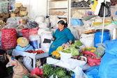 The Market Hall in Cuzco Peru — Stock Photo
