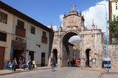 La histórica ciudad del cuzco en perú — Foto de Stock