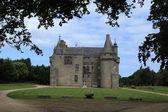 Château de Kérouzéré in brittany — Stock Photo