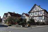 Historic Village Herleshausen Germany — Stock Photo