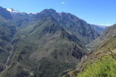 Colca Canyon in Peru — Stock Photo