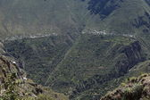 Village in the Colca Canyon of Peru — Stock Photo