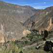 The Landscape of Colca Canyon in Peru — Stock Photo