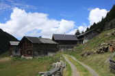 Old Village in the Alps — Stock Photo