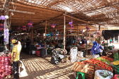 Market in Nazca Peru — Stock Photo