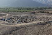 Hřbitov nazca — Stock fotografie