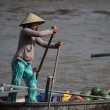 Floating Market Mekong Vietnam — Stock Photo #35017079